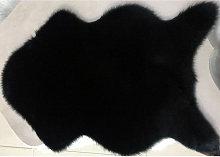 Alfombras de lana de imitacion brillante lavables