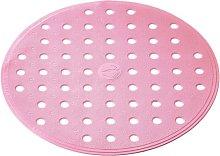 Alfombrilla para ducha antideslizante Action rosa