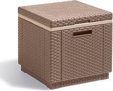 Allibert Caja nevera Ice Cube capuchino 223761 -