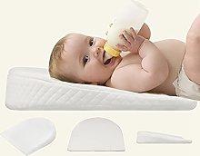 Almohada de cuña para bebé, almohada de sueño