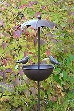 AmaCasa Bebedero para pájaros Aves Silvestres,