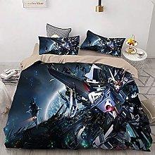 Amacigana Gundam - Juego de funda de edredón y