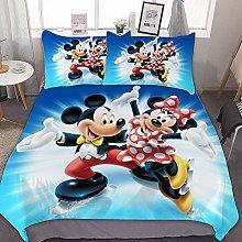Amacigana Mickey Mouse Juego de Ropa de Cama,Juego