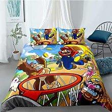 Amacigana Super Mario - Juego de funda de edredón