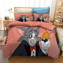 Amacigana Tom and Jerry - Edredón infantil de