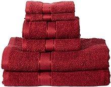 Amazon Basics - Juego de toallas (colores