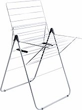 Amazon Basics - Tendedero vertical compacto, 16m