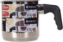 AMBITION Cazo para leche Vikos, 1,35 L, pequeño,