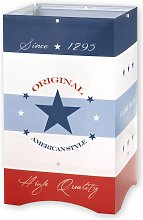 American Style lámpara de mesa infantil estilo USA