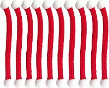 Amosfun - Mini bufanda de lana para muñecas,