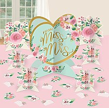 Amscan 282145 Mint From Miss To Mrs - Juego de