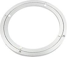 Amuzocity Rodamiento Placa Giratoria Plata Blanco