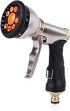 AMZSELLER Pistola Manguera Jardin Metal Pistola de