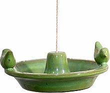 Antikas - Bebedero para pájaros, baño para