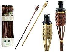 Antorcha De Jardín (5,5 X 122 X 5,5 Cm) Bambú