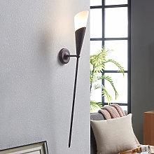 Antorcha de pared Estelle en marrón óxido