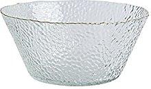 AOTEMAN Cuenco de ensalada de cristal transparente