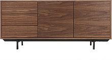 Aparador diseño vintage 160 cm nogal MANNY