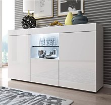 Aparador modelo Sefora color blanco