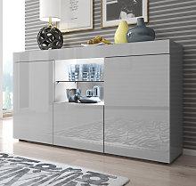 Aparador modelo Sefora color gris