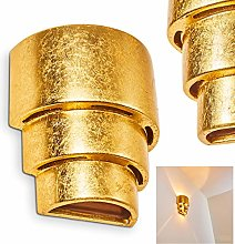 Aplique de cerámica Karatschi color oro - pasillo