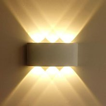 Aplique de pared LED para interiores 6W
