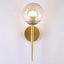 Aplique de pared Nordic Vintage Gold Metal Modern