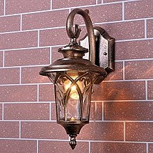 Aplique de Pared Vintage Exterior LED Impermeable