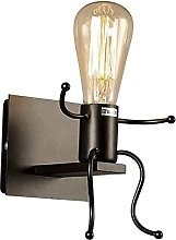 Aplique de Pared Vintage Lámpara Industrial Retro