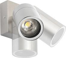 Aplique exterior acero orientable IP44 - SOLO