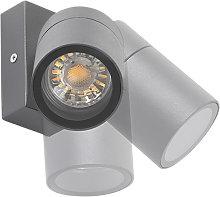 Aplique exterior antracita orientable IP44 - SOLO