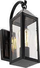 Aplique exterior rústico negro IP44 - BUSSUM