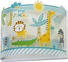 Aplique infantil Little Jungle con enchufe
