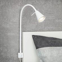 Aplique LED 2080 para montaje en cama, blanco