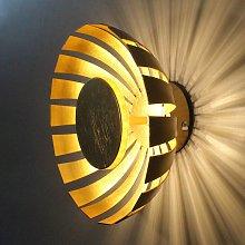 Aplique LED Flare Small, dorado