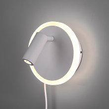 Aplique LED Jordan, 2 luces, blanco