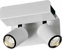 Aplique o foco blanco 2L luz cálida BORACAY LED