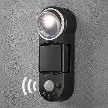 Aplique para exterior LED Prato con sensor, 10 cm