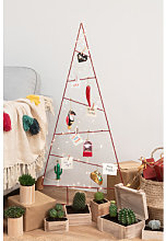 Árbol de Navidad Trey Rojo Sklum
