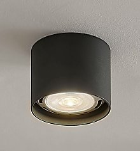 Arcchio - Foco de techo LED Mabel redondo, gris