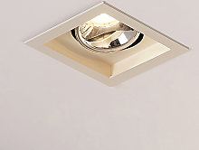 Arcchio Frode downlight LED angular, 3.000K 12,6W