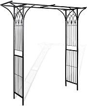 Arco de jardín 200x52x204 cm - Hommoo