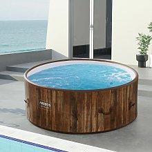 AREBOS In-Outdoor Whirlpool Spa Piscina Bienestar