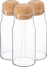 Argon Tableware Botellas de almacenamiento de