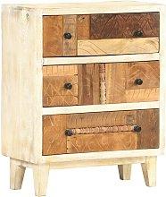 Armario auxiliar de madera maciza reciclada