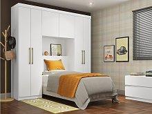 Armario cabecero ANTERO - 6 puertas - Con armario