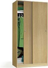 Armario con dos puertas correderas de estilo
