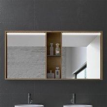 Armario de baño de Inve con espejo decorativo