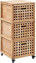 Armario de cuarto de bano 41x41x91 cm madera