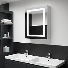 Armario de cuarto de baño con espejo y LED